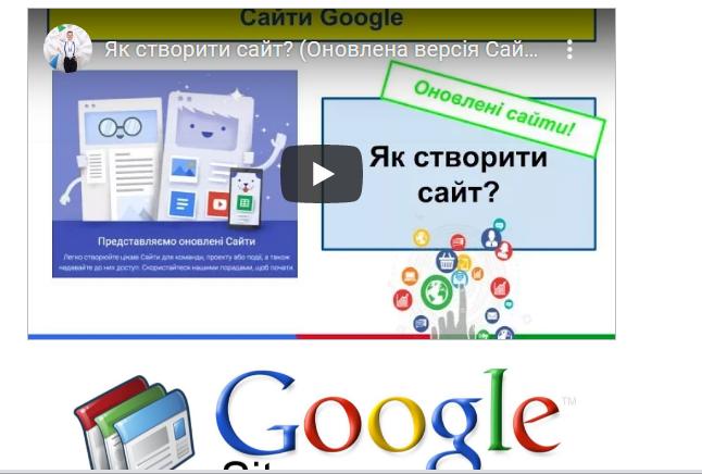Візитна картка Google